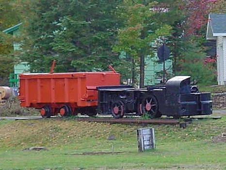Eagle Harber MI mining locomotive